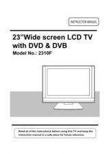 Buy Cello TP2310F Television Operating Guide by download Mauritron #328187