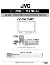 Buy JVC KV-PMH642E Service Manual by download Mauritron #282579