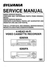 Buy Emerson 6260VA Service Manual by download Mauritron #330492
