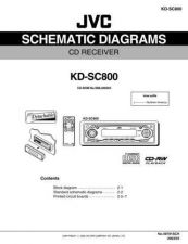 Buy JVC KD-SC800_schem Service Manual Circuits Schematics by download Mauritron #275210