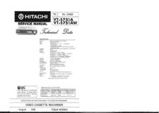 Buy Hitachi VTS751A1AW Service Manual by download Mauritron #285938