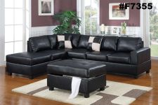 Buy Sectional sofa Furniture Sectional couch Leather sofa reversible Chaise #F7355