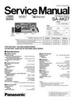 Buy Panasonic SA-AK17_2 Manual by download Mauritron #301656