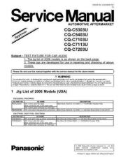 Buy Sharp CQ-C7103U-2 Manual by download Mauritron #298165