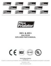 Buy Pitco 35C Service Manual by download Mauritron #328800