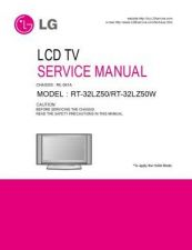 Buy LG RT42PZ45 Service Manual by download Mauritron #322529