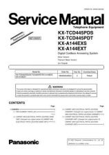Buy Panasonic KX-A144EXT Manual by download Mauritron #299461