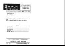 Buy Hitachi CLU-241-2 Service Manual by download Mauritron #288817