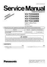 Buy Panasonic KX-TCD200HGC Manual by download Mauritron #299990