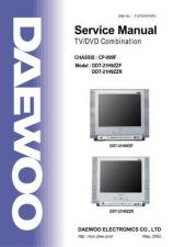 Buy Daewoo DDT21H9 Service Manual by download Mauritron #331729