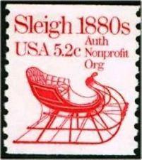Buy 1983 5.2c Sleigh Scott 1900 Mint F/VF NH