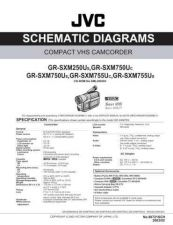 Buy JVC GR-SXM250US SCHEM Service Manual by download Mauritron #279328