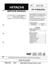 Buy Hitachi DVP705U Service Manual by download Mauritron #285259