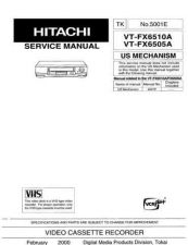 Buy Hitachi VTM132A1 Service Manual by download Mauritron #287314