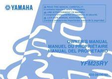 Buy Yamaha 4D3-28199-62 Quad ATV Bike Manual by download #334239