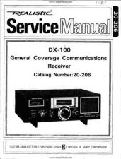 Buy Realistic DX100 Service by download Mauritron #328863