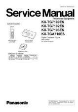 Buy Panasonic TG7100E Manual by download Mauritron #302276