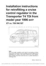 Buy Volkswagen T4 InstallCruiseControlT4PWWM by download #333829