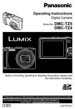 Buy Panasonic DMC-TZ4 TZ5 Camera Operating Guide by download Mauritron #306151