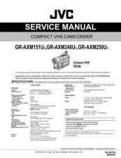 Buy JVC GR-AXM241U-SXM745 parts Service Manual by download Mauritron #280530