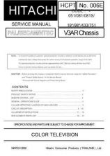 Buy Hitachi HCPT-006E_2 Service Manual by download Mauritron #290386