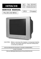 Buy Hitachi C2125T Service Manual by download Mauritron #288622