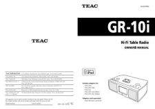 Buy Teac GR10iEB Operating Guide by download Mauritron #318787