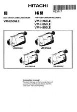 Buy Hitachi VM-RF71A Service Manual by download Mauritron #287005