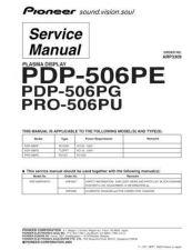 Buy Panasonic PDP-506PG Manual by download Mauritron #301160