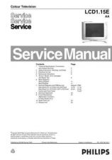 Buy Philips LCD1 15EAA Service Manual by download Mauritron #323671