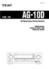 Buy Teac AG10DEFS Operating Guide by download Mauritron #318246