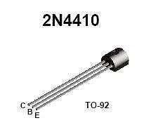 Buy Transistor - 2N4410 NPN General Purpose Amplifier - 20 Pieces