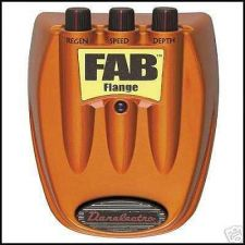 Buy DANO Danelectro FAB FLANGE guitar stomp effects pedal
