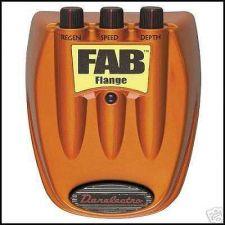 Buy DANO Danelectro FAB FLANGE guitar stomp effects pedal