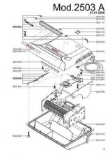 Buy Office Equipment IDEAL 2503 A SHREDDER PARTS by download #335502