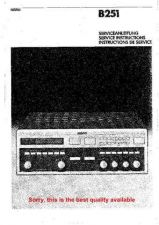 Buy Revox B251 B252 Service Manual by download Mauritron #329739