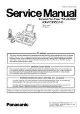 Buy Panasonic KMF0607995CE_KX-FC255SP-S Manual by download Mauritron #299430