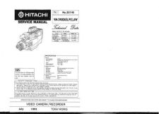 Buy Hitachi VM-E310A Service Manual by download Mauritron #286831