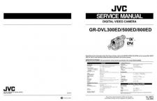 Buy JVC GR-DVL300500800ED -1 Manual by download Mauritron #279159