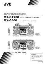 Buy JVC MX-GT700 instructionbook Service Manual by download Mauritron #282842