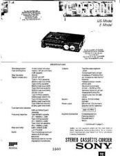 Buy Sony TCD5 Pro II Manual by download Mauritron #327965
