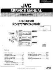Buy JVC KD-SX998R sch Service Manual by download Mauritron #282353
