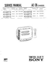 Buy Sony KV-29X5 TV Service Manual by download Mauritron #322925