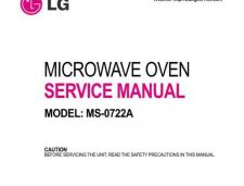 Buy LG MS-0722A Manual by download Mauritron #305811