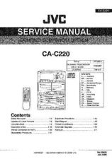 Buy JVC ca-c220 Service Manual by download Mauritron #281342