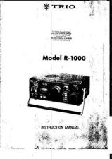 Buy KENWOOD. R1000. Ham Radio. Operating Guide by download Mauritron #327572