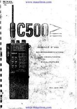 Buy Standard C500E Operating in Italian by download Mauritron #315177