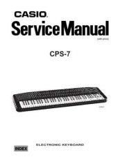 Buy casio cps-7 Service Manual by download #333278
