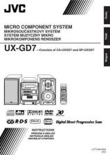 Buy JVC UX-GD7-11 Service Manual by download Mauritron #277175