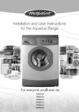 Buy Hotpoint WMA48 Laundry Operating Guide by download Mauritron #314173